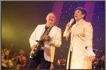 """Connie Neefs en de saxofonist """"Eddy De Vos"""""""